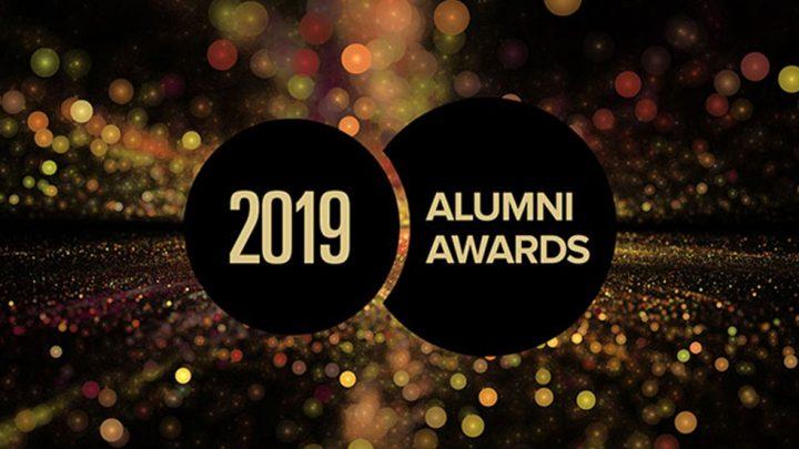 2019 Alumni Awards logo