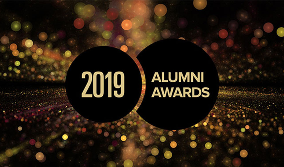 2019 Alumni Awards logo