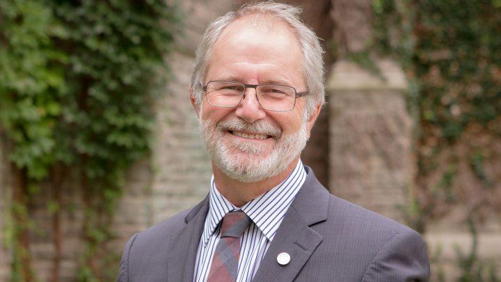 Former President Patrick Deane