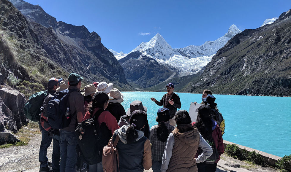 John Maclachlan in Peru