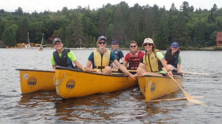 MOOSE canoe trip