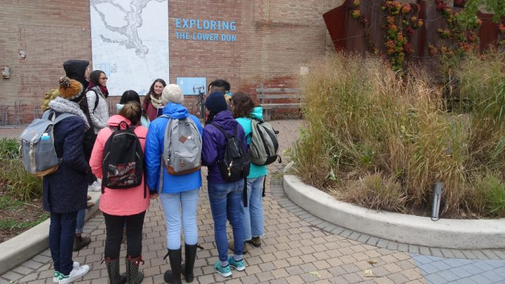 Urban Placemaking class takes students into the city