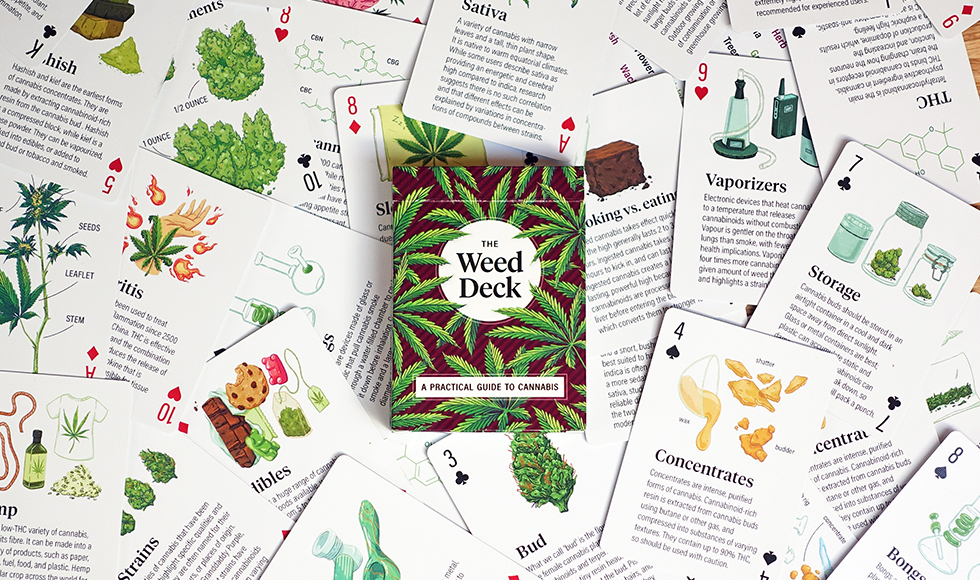 The Weed Deck, playing cards