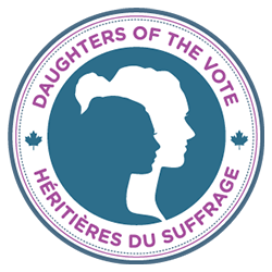 Daughters of the Vote logo