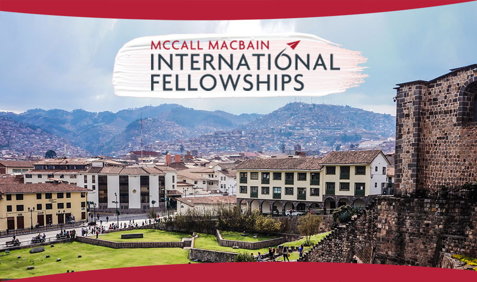 McCall MacBain Fellowship